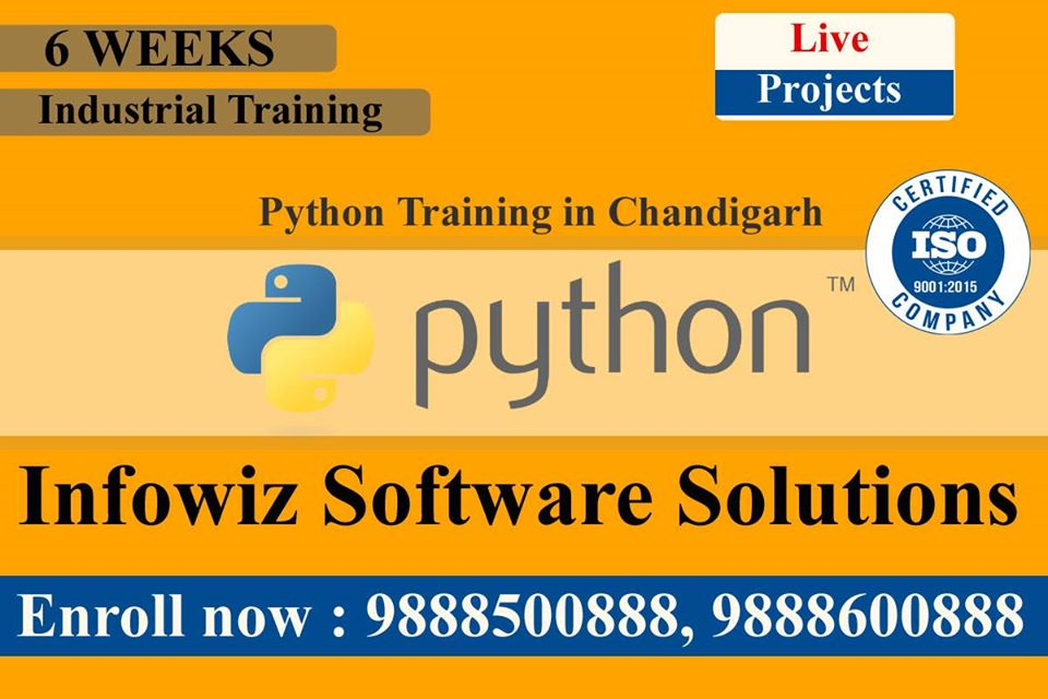 Best Company for Python Training in Chandigarh