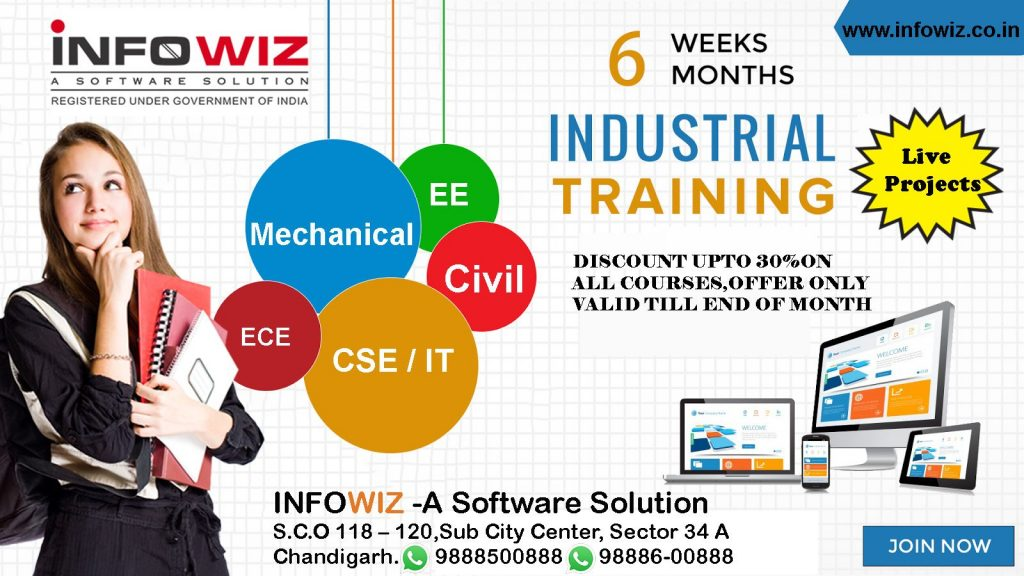 6 weeks Industrial Training for Mechanical in chandigarh