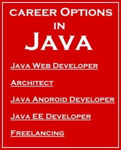 career options in Java
